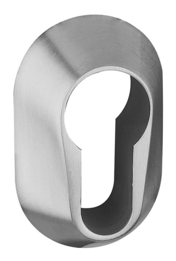Rosace de sécurité Glutz ovale pour cylindre PZ