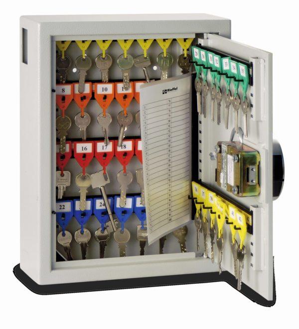 Armoires à clés KyStor Série KR-42.42 E Canal latéral de réception de clés